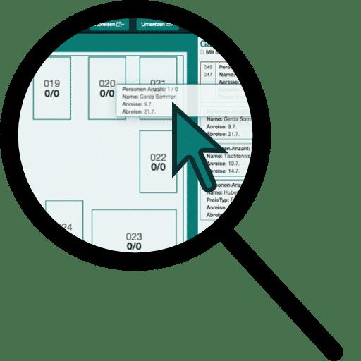 Kommis - Tischplan erstellen
