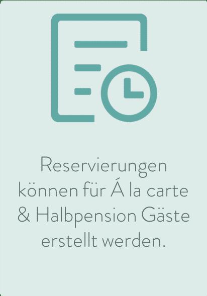 Sitzordnung Hotelrestaurant